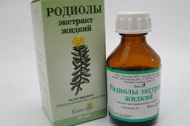 Настойка Родиолы Розовой