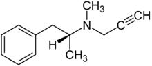 Химическая формула Депренила